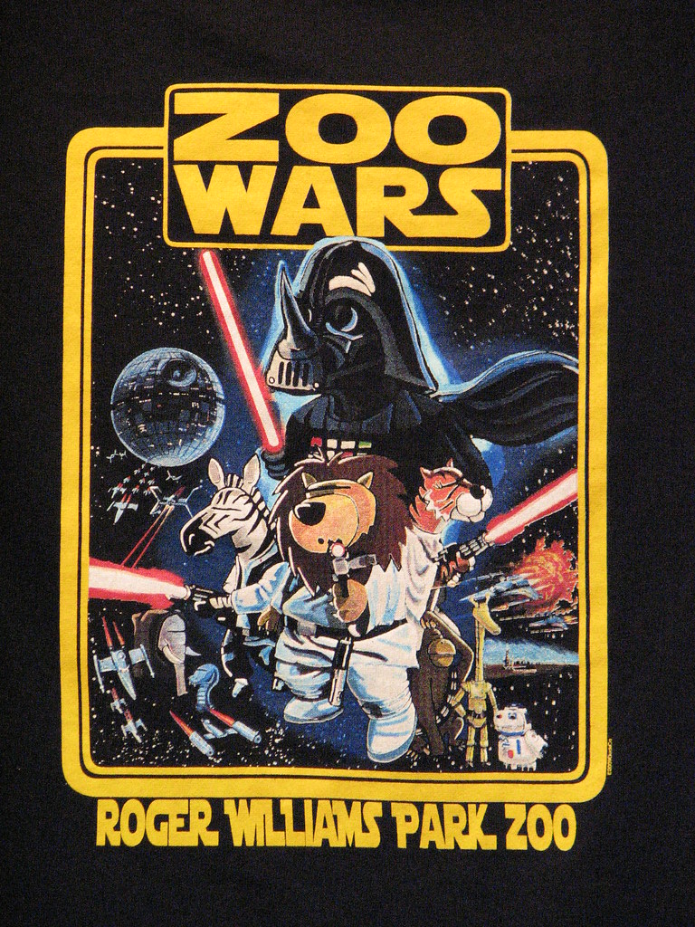 Zoo Wars T Shirt FranMoff Flickr