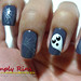 Nail Art Halloween Ghost 04