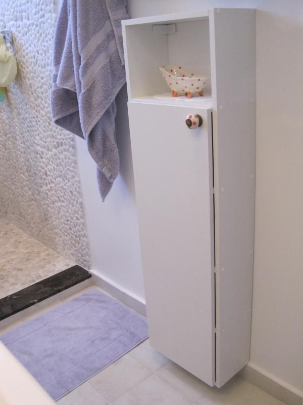 Detalhes Armário para o Banheiro  Nicho suspenso com port…  Flickr -> Armario Banheiro Modular