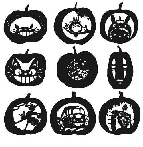 Ghibli Pumpkins Ideas For Ghibli Themed Pumpkins
