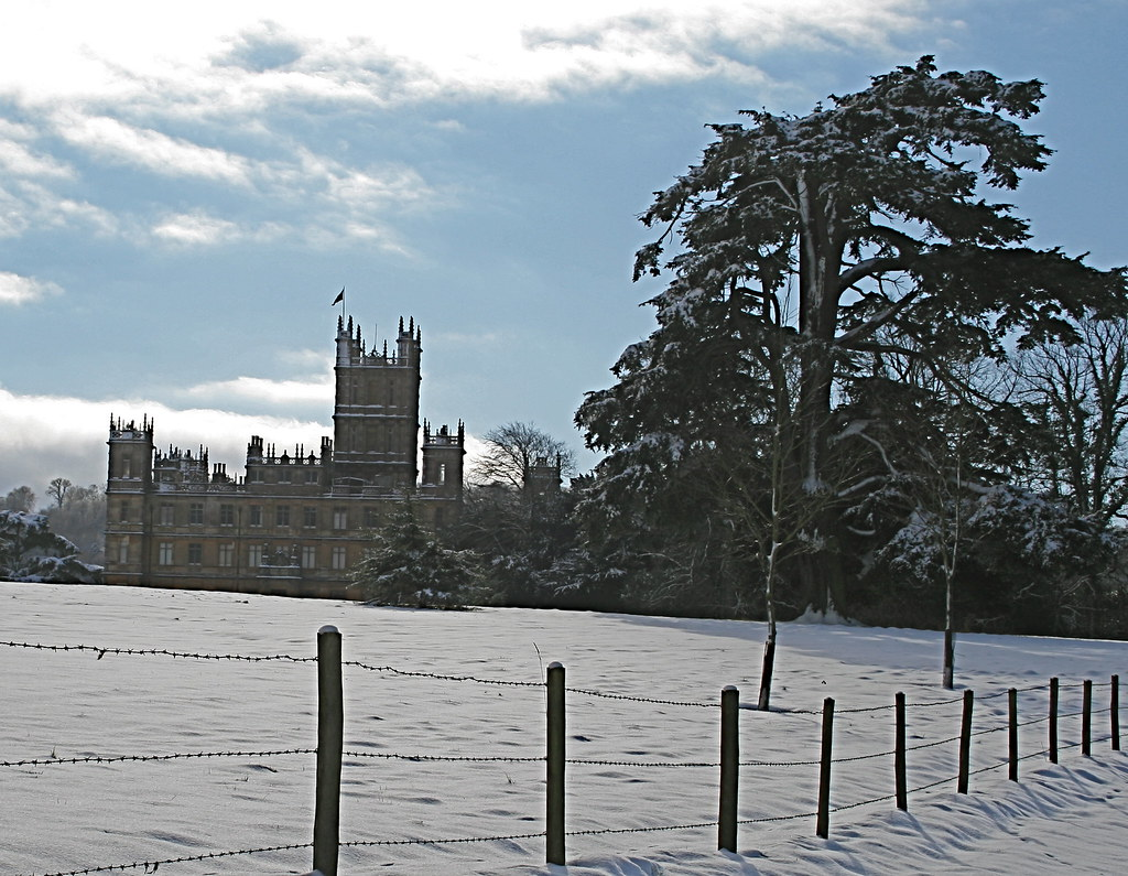 Highclere Castle Winter | charlie bennett | Flickr