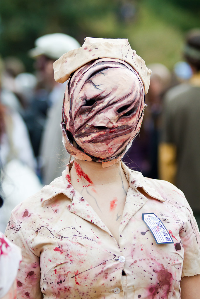 silent hill zombie gimp portrait from the toronto zombie w