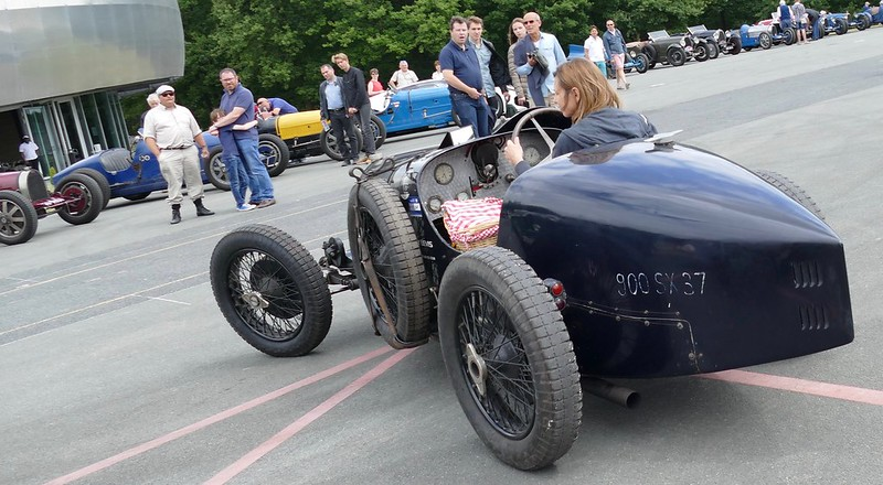Bugatti noire 990 SX 37 - Festival Héritage 2017 35650901995_4460cc1066_c
