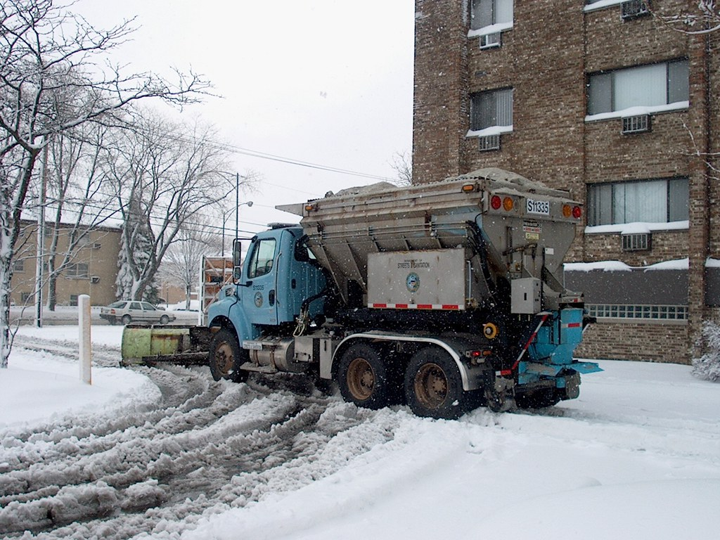 City Of Chicago Department Of Streets And Sanitation snow …  Flickr