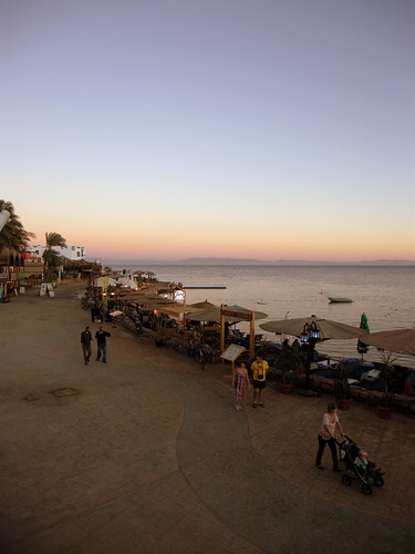 Dahab promenade at sunset | by mattk1979