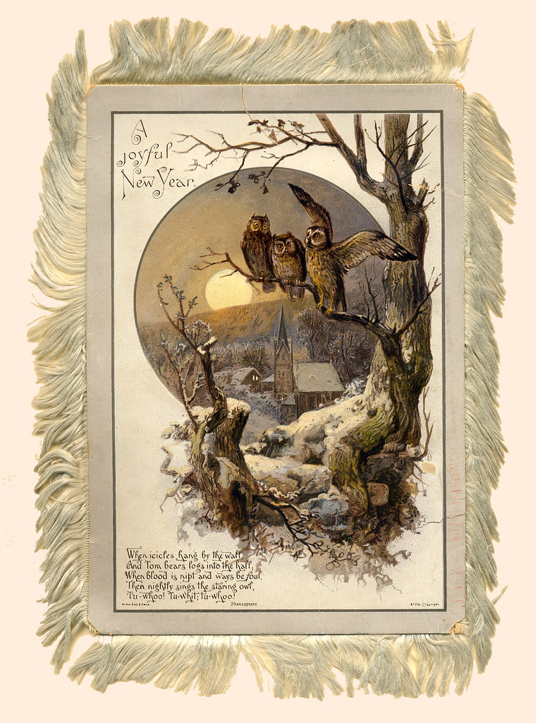 1880s by new yearchristmas card by wirths brothers owen ca 1880s by