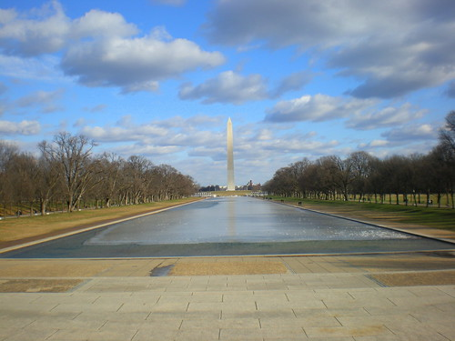 Washington Monument and Capitol, from Lincoln Memorial | by webb.heather