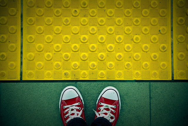 Please stand behind the yellow line. | Flickr - Photo Sharing!