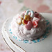 Miniature Frosted Love Cake
