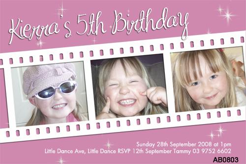 girls 5th birthday party invitations girls 5th birthday bi flickr
