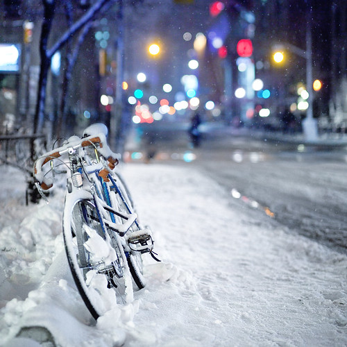 Bike in the Snow | by Mute*