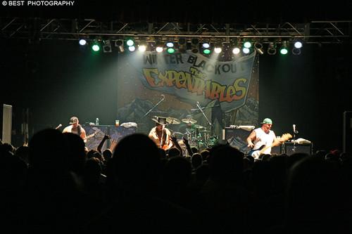 The Expendables Blackout  Tour