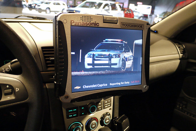 Panasonic Toughbook In A 2011 Chevrolet Caprice Police Pat Flickr
