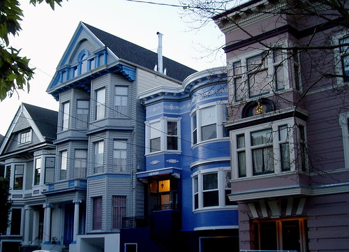 San Francisco, Cole Valley houses | by frontiermidwife