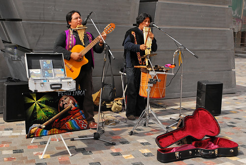 Peruvian Buskers | by goingslowly