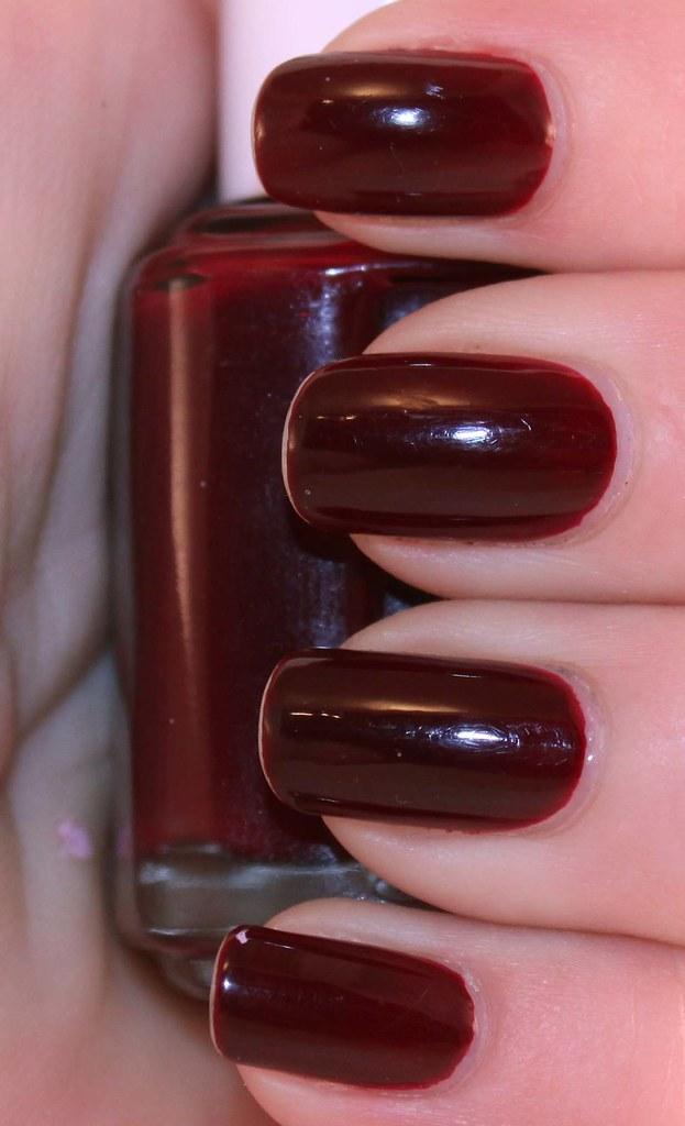 Essie - Berry Hard | http//www.mylatestobsession.com | Manicure ...
