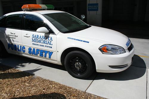 Sarasota Memorial Public Safety Patrol Car Sarasota