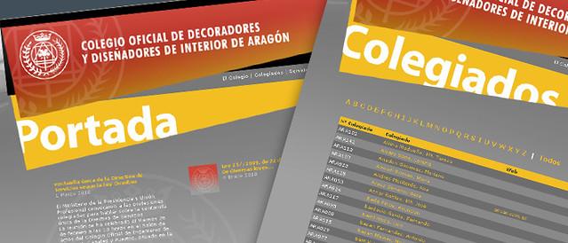 Web Del Colegio Oficial De Decoradores Y Diseñadores De In
