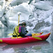 Recording the location of Grinnell Glaciers Terminus via kayak