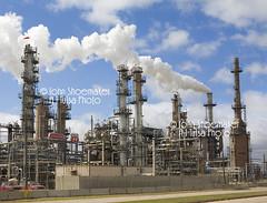 Oil Refinery 6963 Refinery Conoco Phillips Ponca City