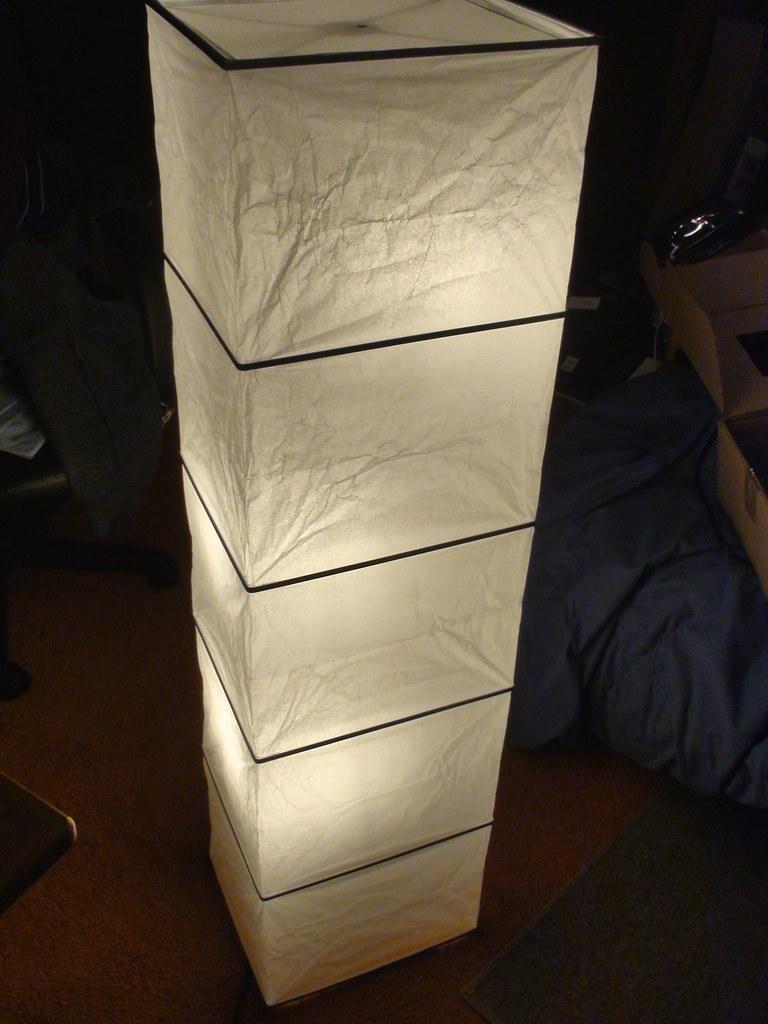 Assembled Rutbo Floor Lamp Rutbo Lamp From Ikea