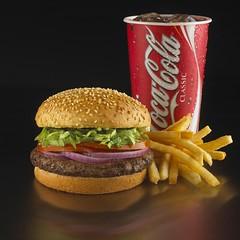 Qtr Burger Combo