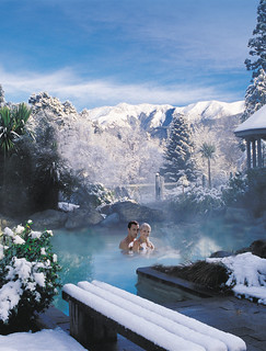 Hanmer Springs Thermal Pools in winter | by Hanmer Springs