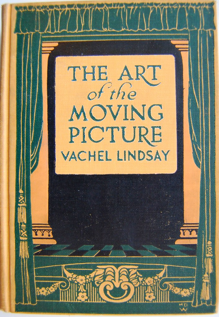 Book Cover Design Jobs Nyc : Book cover of the art moving picture by vachel lind