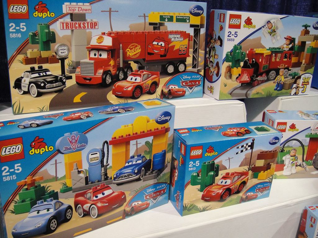 Lego Toy 3 : Lego duplo disney pixar toy story and cars sets wthra