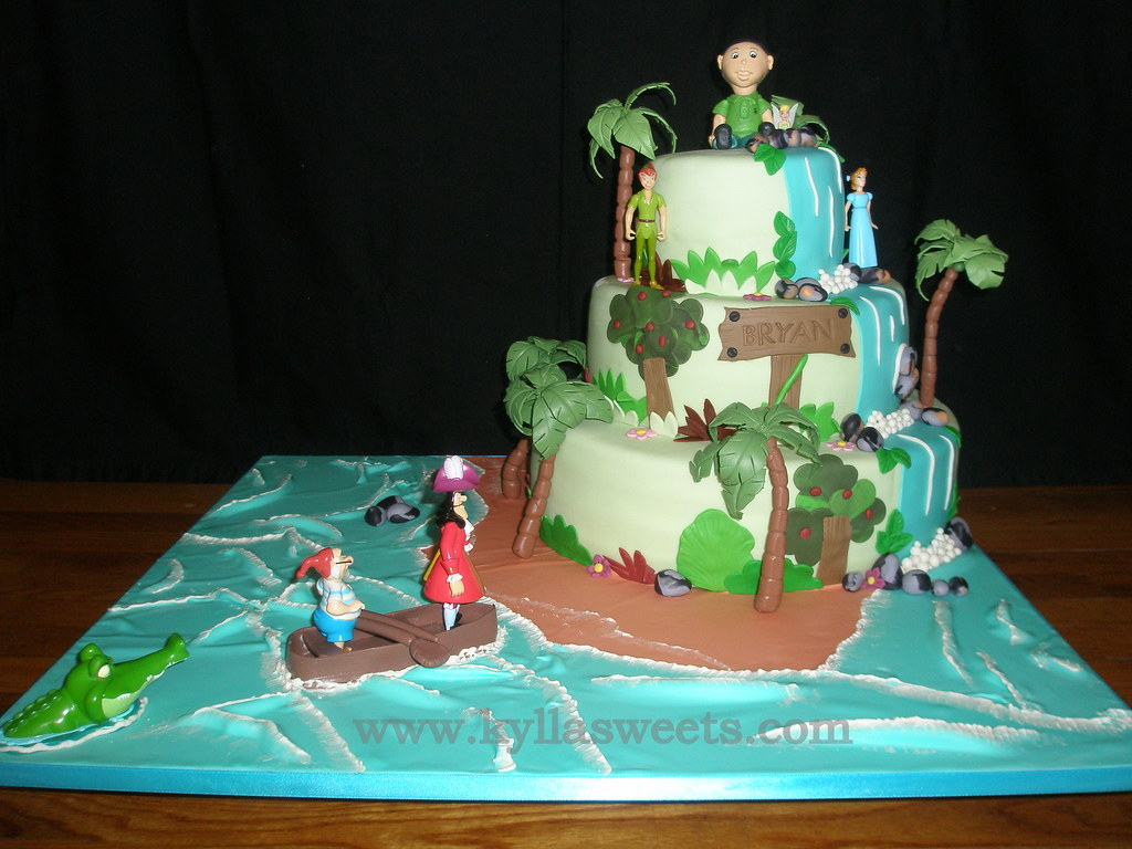 Peter Pan Cake Decorations
