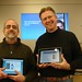 Bob Sprankle and Wesley Fryer - iPad Launch Day in Portland, Maine