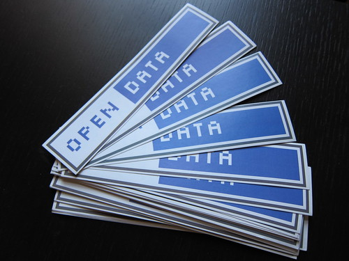 Open Data Stickers | by jwyg