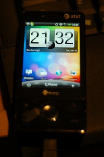 Android 2.1 on HTC Fuze | by Rich Moffitt