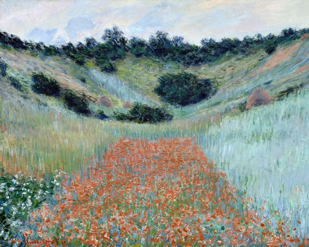 Champ de coquelicots, environs de Giverny (C Monet - W 100…   Flickr