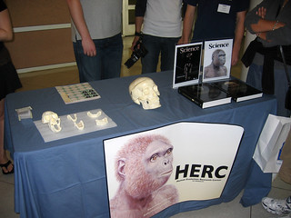 HERC table at Cal Day | by UCMP
