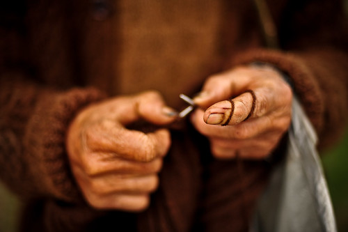 Knitter's Hands | by goingslowly