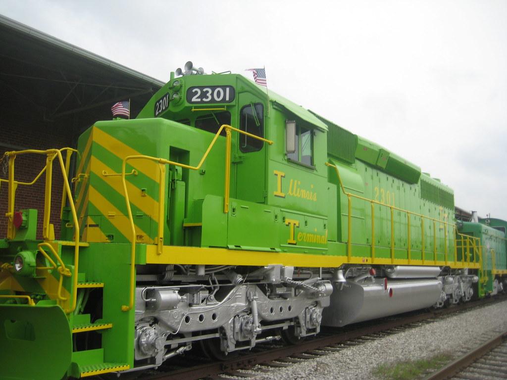 Illinois Terminal Railroad Itc 100th Anniversary Sd40 2