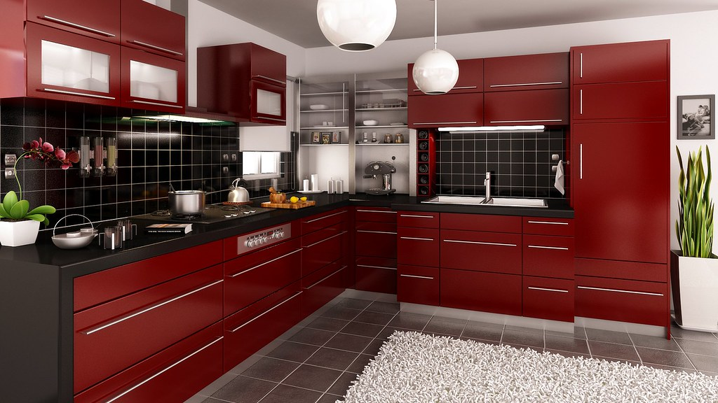 Kitchen 3d Interior Render 3d Kitchen Interior Co