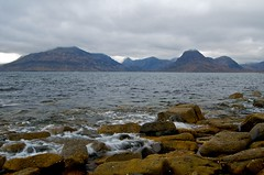 Black Cuillins from Elgol on a grey day | by Photographic View Scotland