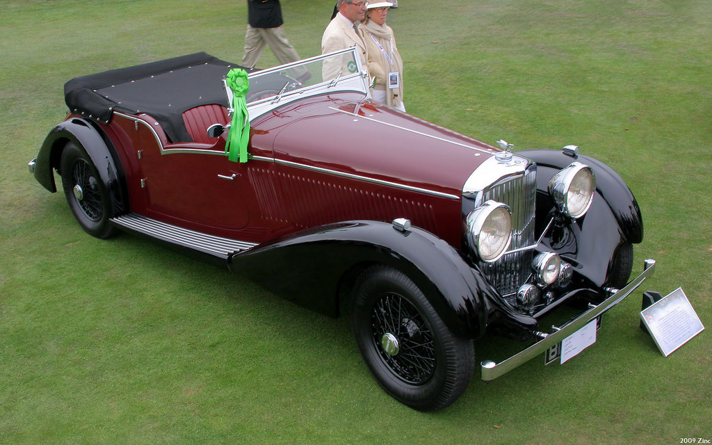 1936 bentley litre vanden plas tourer maroon blac. Black Bedroom Furniture Sets. Home Design Ideas