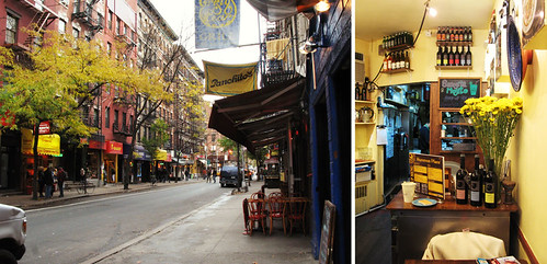MacDougal Street and Hummus Place | by jumanggy