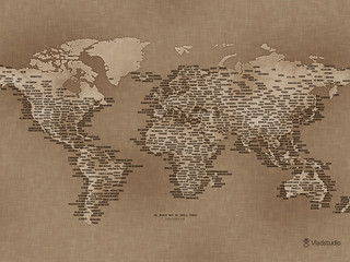 The World Map of Small Towns | by Cea.