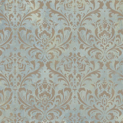 Damask Stencil for wall decor Elegant Stencils by Cutting