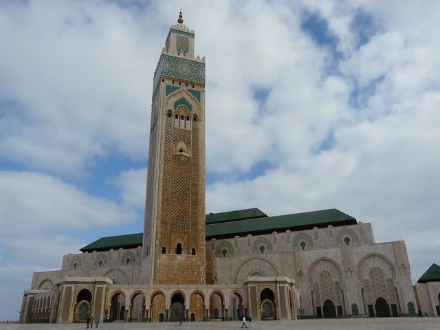 Mezquita de Casablanca (Marruecos)