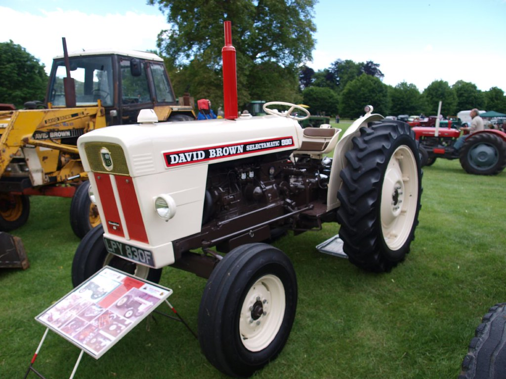 Case 990 Farm Tractors Parts : David brown selectamatic farm tractors