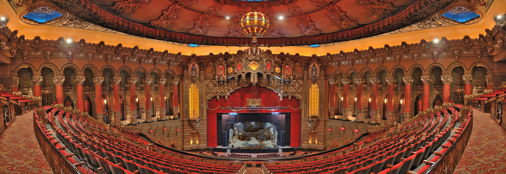 The Fabulous Fox Theatre (also known as simply the Fox Theatre) is a stunning theatre located in the heart of the downtown of St. Louis, Missouri. The Fabulous Fox Theatre has an elegant appearance both inside and out and provides a magnificent atmosphere for live performances and shows.