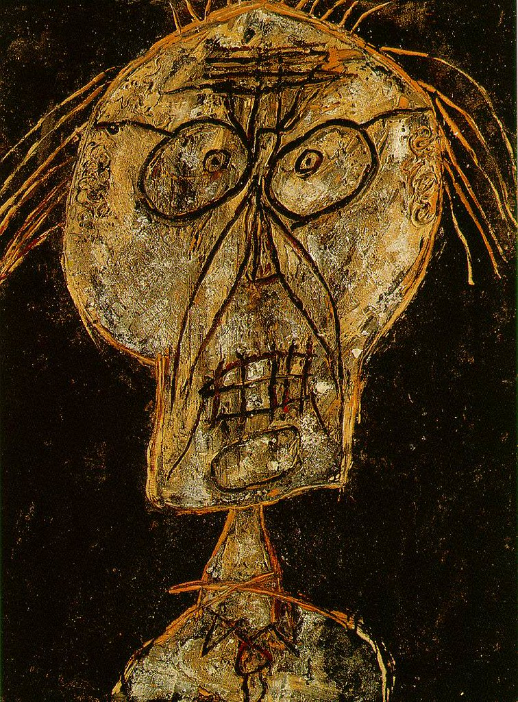 Dubuffet, Jean (1901-1985) - 1947 Dhotel Nuance d\'abricot …   Flickr