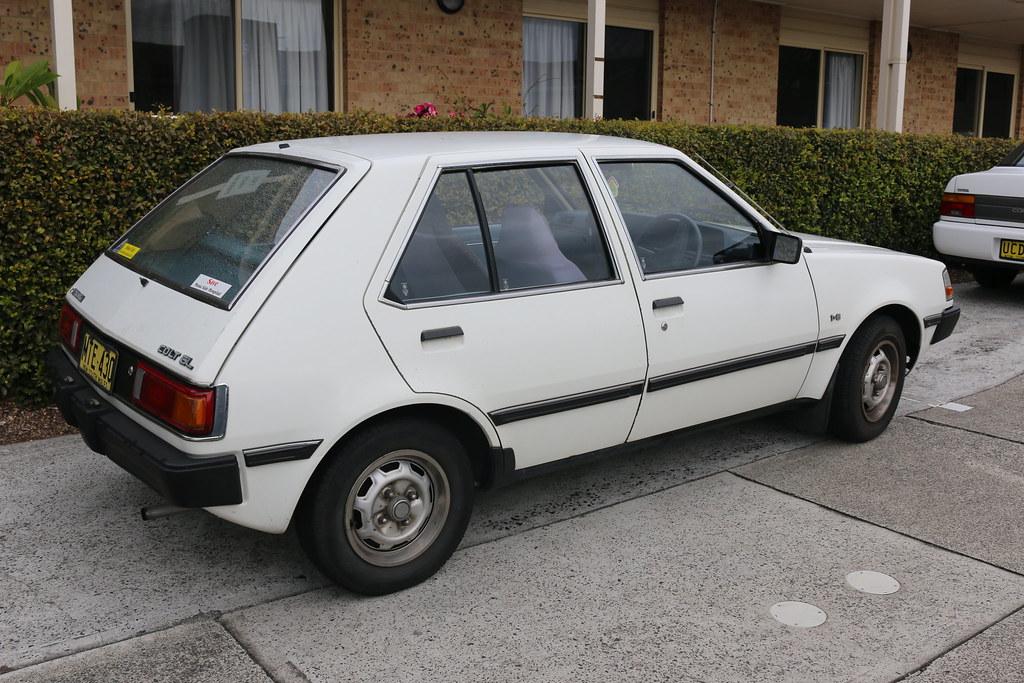 Mitsubishi colt 1984