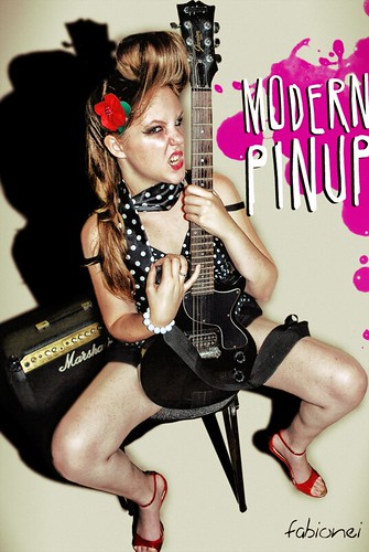 pin up rock