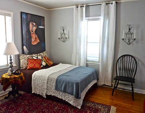 Guest Bedroom (Halfway) | by Birdhouse Interiors